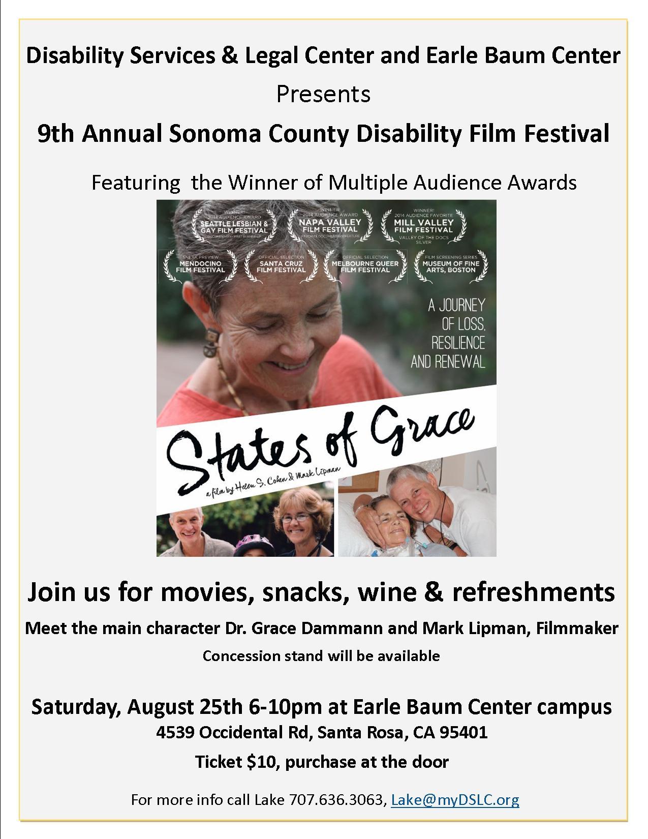 States of Grace movie flyer