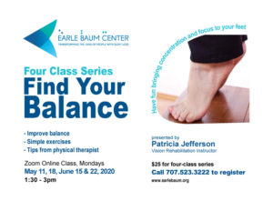 Find Your Balance flyer