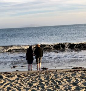 friends at Doran Beach