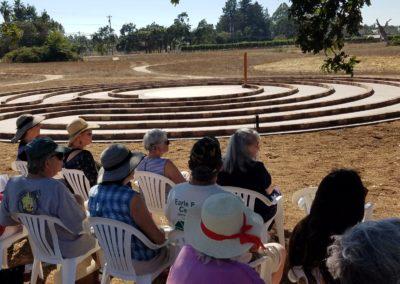 Labyrinth dedicaiton 5
