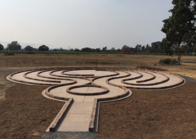 Labyrinth at Earle Baum Center