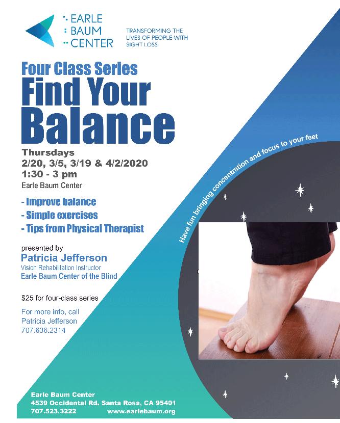 balance class flyer
