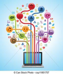 cartoon of tech tree